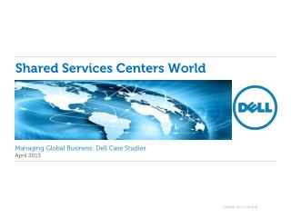 Shared Services Centers World