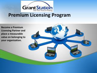 Premium Licensing Program