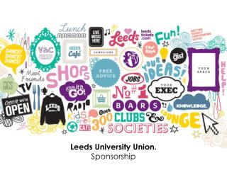 Leeds University Union. Sponsorship