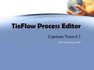TieFlow Process Editor