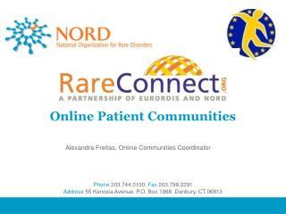 Online Patient Communities