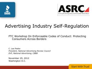 Advertising Industry Self-Regulation