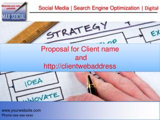 Social Media | Search Engine Optimization  | Digital PR
