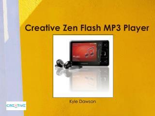 Creative Zen Flash MP3 Player