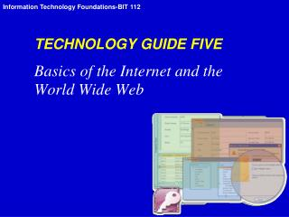 TECHNOLOGY GUIDE FIVE