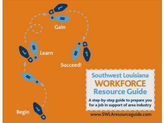 WHAT IS THE SWLA WORKFORCE RESOURCE GUIDE?