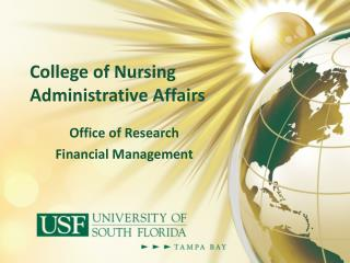 College of Nursing Administrative Affairs