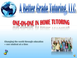 One-on-One In Home Tutoring