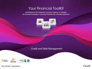 Credit and Debt Management