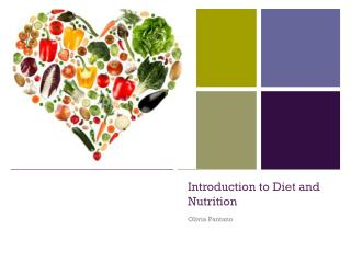 Introduction to Diet and Nutrition
