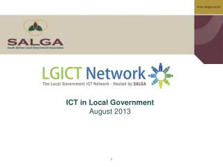 ICT in Local Government August 2013