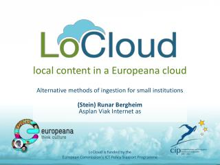 local  content in a Europeana cloud