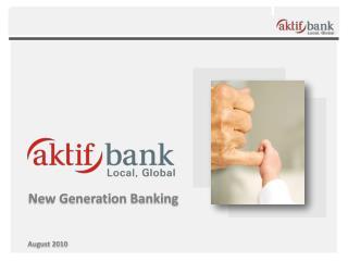 New Generation Banking