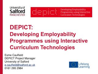 DEPICT:  Developing Employability  Programmes  using Interactive Curriculum Technologies