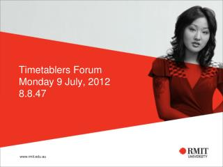Timetablers Forum Monday 9 July, 2012 8.8.47
