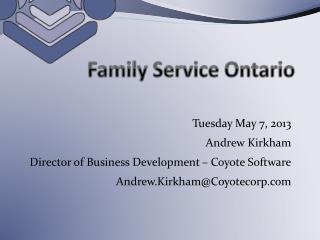 Family Service Ontario