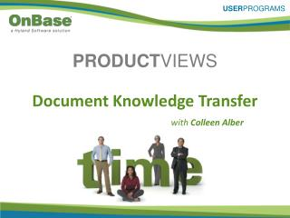 Document Knowledge Transfer