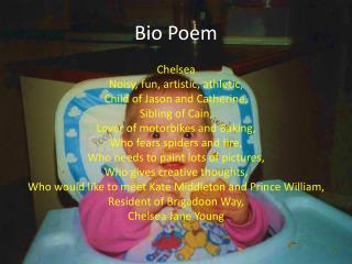 Bio Poem