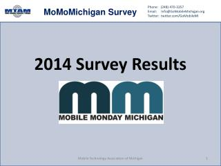 2014 Survey Results