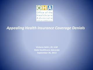 Appealing Health Insurance Coverage Denials