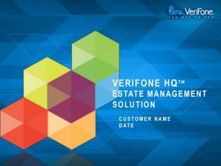 verifone  HQ tm Estate Management Solution