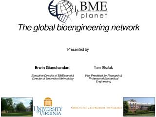 The global bioengineering network