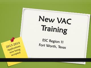 New VAC Training