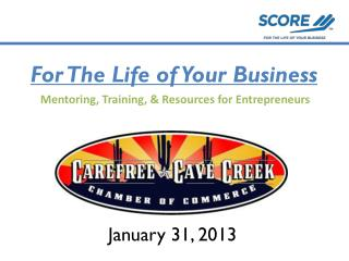For The Life of Your Business