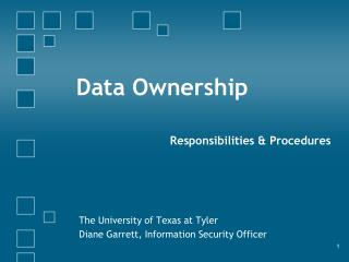 Data Ownership