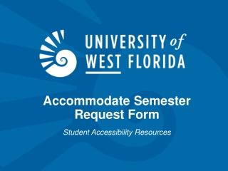 UWF Student Affairs