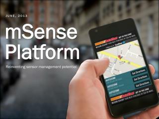 mSense Platform