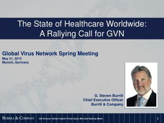 Global Virus Network Spring Meeting May 31, 2013 Munich, Germany