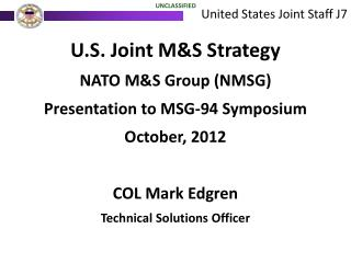 United States Joint Staff J7