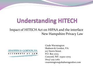 Understanding HITECH