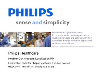 �Healthcare is a people business.   To be sustainable, health organizations    must communicate and connect with their