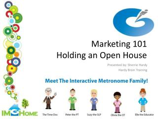 Marketing 101 Holding an Open House