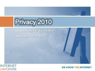 Privacy 2010