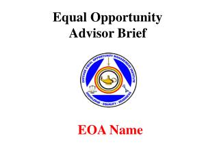 Equal Opportunity  Advisor Brief