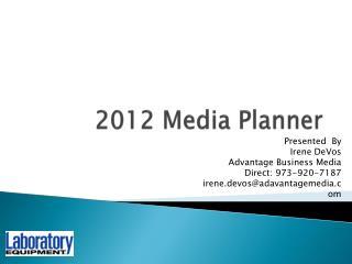 2012 Media Planner