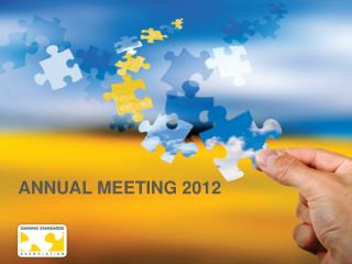 ANNUAL MEETING 2012