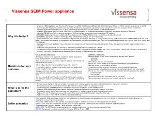 Vissensa  SEIM  Power appliance