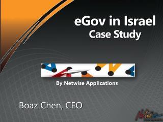 eGov  in Israel Case  Study