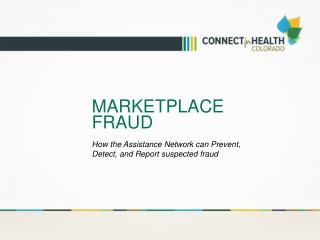 Marketplace fraud
