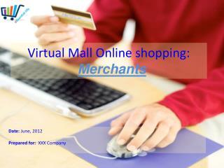 Virtual Mall O nline shopping : Merchants