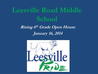 Leesville Road Middle School