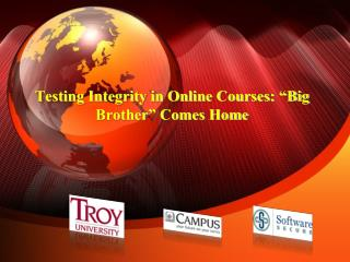 "Testing Integrity in Online Courses: ""Big Brother"" Comes Home"