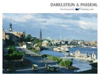 Sanctions Due Diligence Prof. Dr. Dieter Schwampe Dabelstein  & Passehl Hamburg