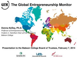 Presentation to the Babson College Board  of  Trustees ,  February  7, 2014