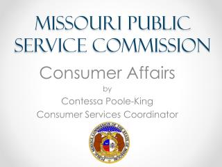 Missouri Public Service Commission