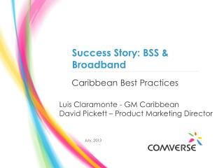 Caribbean Best Practices